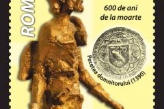 statuia lui Mircea cel Bătrân aflată în patrimoniul Muzeului Național al Literaturii Române