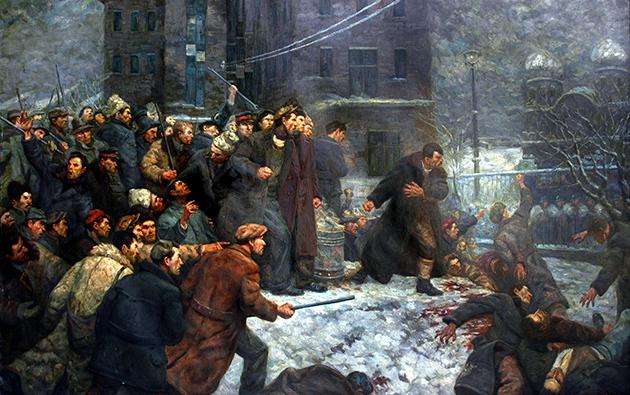 Adevăr şi manipulare: 1933, reprimarea grevei de la Griviţa